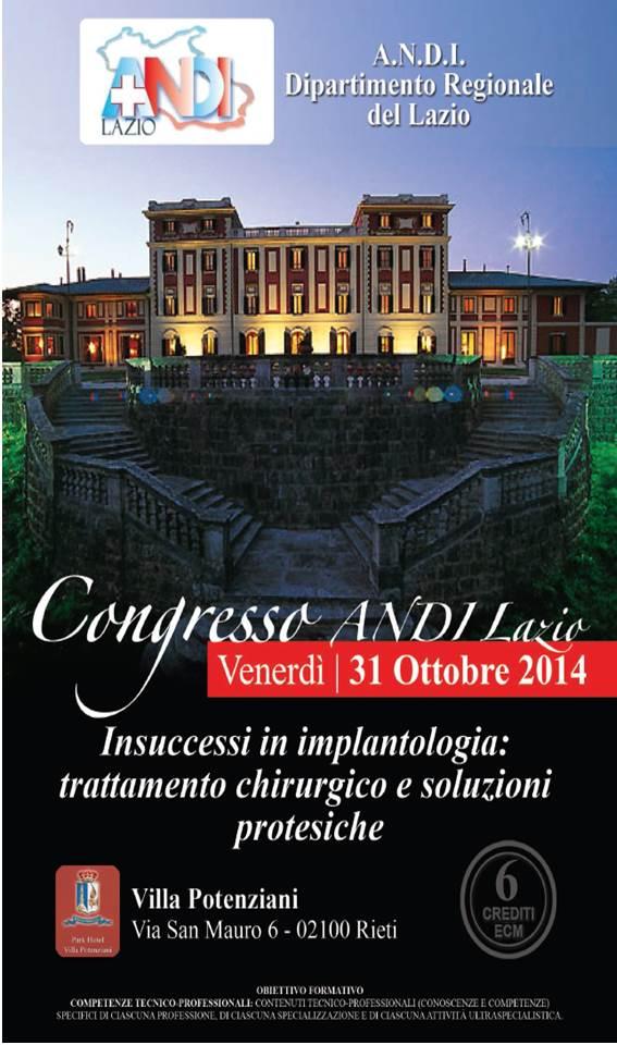 Brochure Congresso ANDI Lazio 10-2014